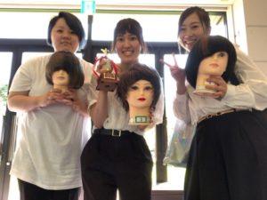 長野県美容選手権大会に出場しました!